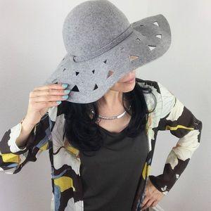Anthropologie / Renee's NYC Wool Boho Floppy Hat